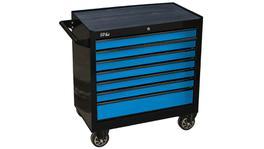 SP Tools Roller Cab Black/Blue 7 Drawer Custom Sumo