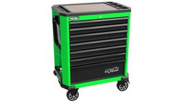 SP Tools Roller Cab Green/Black Concept 7 Drawer