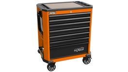 SP Tools Roller Cab Orange/Black Concept 7 Drawer