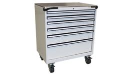 SP Tools Storage Rolla Cab White Stainless Cover 873mm