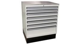 SP Tools Storage Fixed Cab White Stainless Cover 873mm