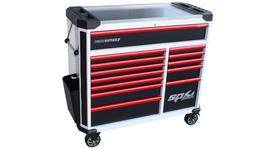 SP Tools Roller Cab 13 Drawer White/Blk/Red Tech Series