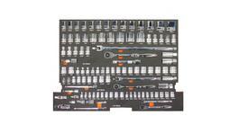 SP Tools Eva Tool Kit 105Pc Metric/SAE Socket & Accessories