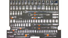 SP Tools Eva Tool Kit MSP 25 Pc Met/SAE Quad Dr Roe Spanners