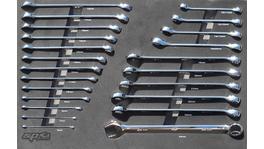 SP Tools Eva Tool Kit 23Pc Metric Roe + Flare Spanners