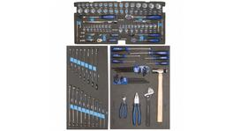 SP Tools EVA Foam Tool Kit 133 Pc Metric/SAE