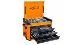 SP Tools Concept Series Tool Kit 212Pc Metric Orange/Black