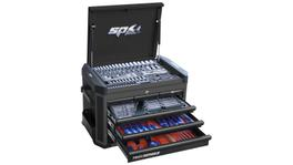 SP Tools Concept Series Tool Kit 212Pc Metric Diamond Black