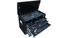 SP Tools Custom Series Tool Kit 134 Pc Metric/SAE 2 Dr Black