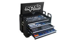 SP Tools Custom Series Field Tool Kit 406 Pc Metric/SAE Black