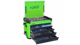 SP Tools Concept Series Tool Kit 267Pc Metric Green/Black