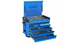 SP Tools Concept Series Tool Kit 267 Pc Metric 7 Dr Blue