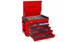 SP Tools Concept Series Tool Kit 267 Pc Metric 7 Dr Red