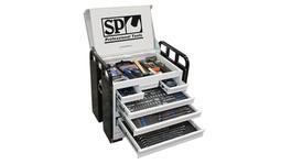 SP Tools Custom Series Field Tool Kit 380 Pc Metric/SAE Black