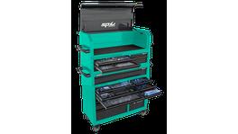 SP Tools 488Pc Toolkit Metric/Sae - Black/Teal 18 Dr Sumo
