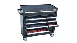 SP Tools Custom Series Tool Kit 347 Pc Metric/SAE 15 Dr Black