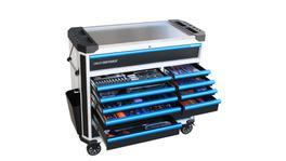 SP Tools Tech Series Master Tool Kit 292 Pc Metric (W/Blk/Bl)