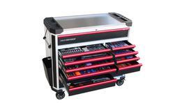 SP Tools Tech Series Master Tool Kit 292 Pc Metric (W/Blk/R)