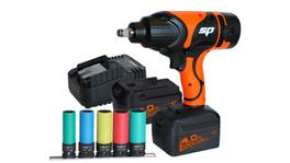 "SP Tools 18v 1/2""Dr Impact Wrench Kit 4.0Ah Max Lithium"