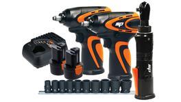 SP Tools Cordless 12V Mechanics 3pc Workshop Combo Kit