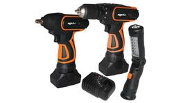 SP Tools Cordless 16V Combo Kit Impact (Wrench,Drill,Torch)