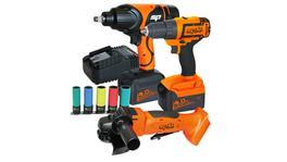 SP Tools Cordless 18V Combo Kit 3Pc SP82201