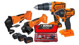 SP Tools Cordless 18V Combo Kit 4Pc SP82222