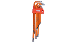 888 By SP Tools Key Set 9Pc Torx Tamper Hex (Orange)