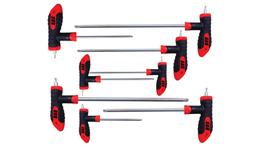 888 By SP Tools Hex Key T-Handle 8Pc Torx Set