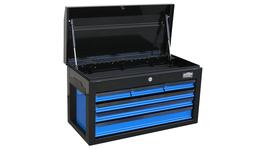 888 By SP Tools Tool Box Black/Blue 888 6 Drawer