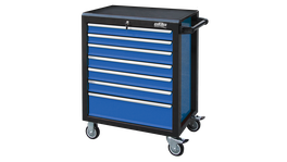 888 By SP Tools Roller Cab Black/Blue 888 7 Drawer