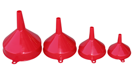888 By SP Tools Funnel Set 4Pc - 80mm 100mm 120mm 140mm