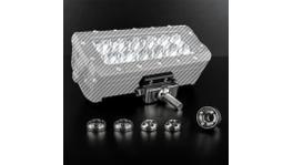 STEDI Anti Theft Kit - LED Light Bar Adjustable Sliding Brackets (Suits ST4K & ST3301)