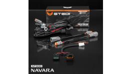 STEDI Wiring Harness Loom Kit - Plug & Play Fits Nissan Navara D23 (High Beam)