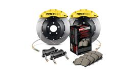 StopTech Big Brake Kit - Fits Ford Fiesta ST Front Yellow ST-40 Calipers 328x28mm Slotted 2014