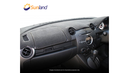 Sunland Dashmat fits KIA MENTOR (5/98 to 3/01) - Charcoal