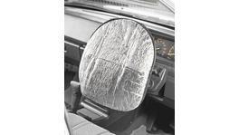 Sunland Interior Reflective Steering Wheel Cover Silver 42x39cm - SCG705
