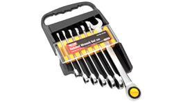 Toledo Ratchet Wrench Set Sae 7 Piece 301481