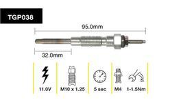 Tridon Glow Plug TGP038