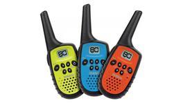Uniden 0.5W UHF Handheld 3 Colour Pack