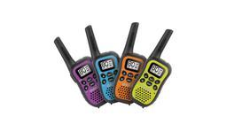 Uniden 80 Channel UHF CB Handheld Radio (Walkie-Talkie) With Kid Zone – Quad Colour Pack