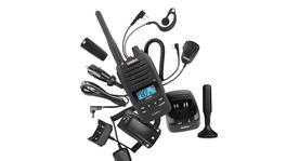 Uniden 5 Watt UHF Waterproof CB Handheld Radio – Deluxe Pack
