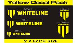 Whiteline KWM001 Decal Pack - Yellow