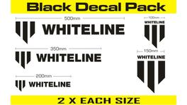 Whiteline KWM002 Decal Pack - Black