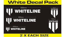 Whiteline KWM004 Decal Pack - White