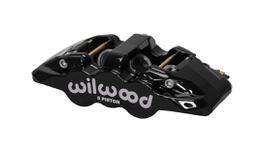 Wilwood Aero6 Radial Mount Caliper 6 Pot LH Black 120-13290-BK