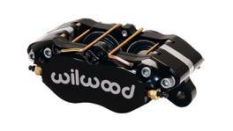 Wilwood DynaPro Dust-Boot Caliper 4 Pot Black 120-15131-BK