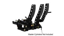 Wilwood Pedal Box 3 Pedal Floor Mount w/o Throttle Link 340-12410