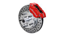 Wilwood DynaLite Dust-Boot Pro 280mm Brake Kit Front Red 140-13202-DR