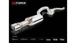 """Xforce Cat Back System 3.5"""" Raw 409 Stainless (Fits Oe Cat Only) fits Falcon FG XR6/G6T Sedan"""